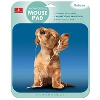 Handstands Deluxe iPod Dog Mouse Pad