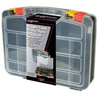 Performance Tools Double-Sided Plastic Parts Organizer