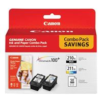 Canon PG-210XL, CL-211XL Combo Value Pack