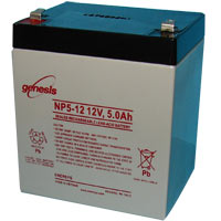 Dantona Industries Lead Acid Replacement Battery for UPS 12VDC, 5Ah