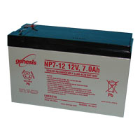 Dantona Industries Lead Acid Battery Replacement for UPS 12VDC, 7Ah