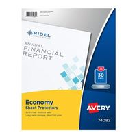 Avery Economy Clear Sheet Protectors Acid Free 30-Pack