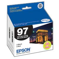 Epson 97 Black Ink Cartridge Dual Pack