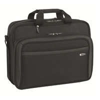 "SOLO CheckFast Portfolio Laptop Briefcase Fits Screens up to 17"" - Black"