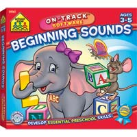 School Zone Publishing Beginning Sounds (PC/Mac)