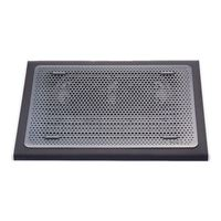 Targus Notebook Chill Mat with Dual Fans Dark Gray