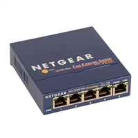 NetGear FS105 5-Port 10/100 Fast Ethernet Switch