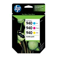 HP 940 Color Ink Cartridge Combo Pack