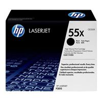 HP 55X LaserJet Black High Yield Toner Cartridge