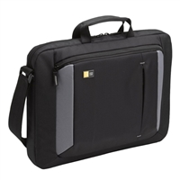 "Case Logic Laptop Briefcase Fits Screens up to 16"" - Black"