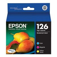 Epson 126 Color Ink Cartridge 3-Pack