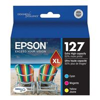Epson 127 Extra High Capacity Color Inkjet Cartridge Multi-Pack