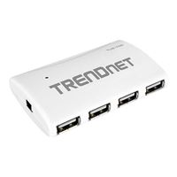 Trendnet 7-Port High Speed USB 2.0 Hub w/ Power Adapter