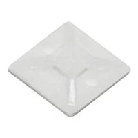 "Quest Technology .5"" Cable Tie Saddle Mount"
