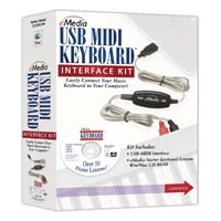 eMedia USB/MIDI Keyboard Interface Kit (PC/Mac)