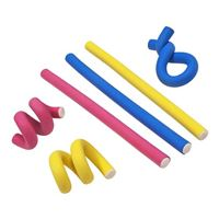 "UT Wire 7"" Flexi Ties Yellow/Pink/Blue 6 Pack"