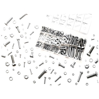 Performance Tools 240 Piece Zinc Metric Nuts & Bolts Assortment