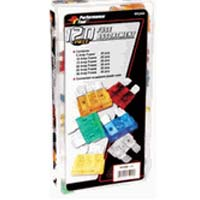 Performance Tools Mini Fuse Assortment - 120 Piece