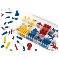 Performance Tools Wire Terminal Assortment Kit - 160 Piece