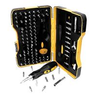 Performance Tools 101 Piece Ratcheting Screwdriver Bit Set