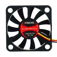 Evercool EC4007M12CA Ball Bearing 40mm Case Fan