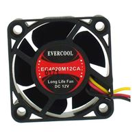 Evercool EC4020M12CA Ball Bearing 40mm Case Fan