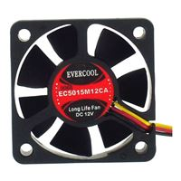 Evercool EC5015M12CA Thin Ball Bearing 50mm Case Fan
