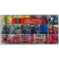The Best Connection Professional Wiring Terminal Kit 180 Piece
