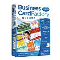 Nova Development Business Card Factory Deluxe 4.0 (PC)