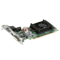 EVGA GeForce 210 Low Profile Single-Fan 1GB DDR3 PCIe Video Card