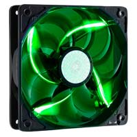 Cooler Master SickleFlow Green LED Sleeve Bearing 120mm Case Fan