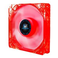 Kingwin CFR-012LB Red LED Long Life Bearing 120mm Case Fan