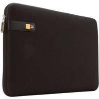 "Case Logic Laptop Sleeve Fits Screens up to 15.6"" - Black"