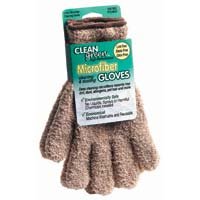 Master Caster Clean Green Microfiber Gloves