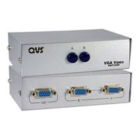 QVS 2 Port HD15 VGA/SXGA Manual Switch