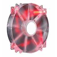 Cooler Master MegaFlow Red LED Sleeve Bearing 200mm Case Fan