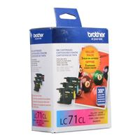 Brother LC713PKS Color Ink Cartridge 3-Pack