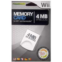 Komodo 4MB Memory Card for Wii/Gamecube