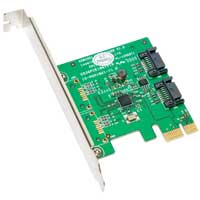 IOCrest 2-port SATA 6.0Gb/s PCIe Controller Card