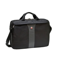 "Swiss Gear Legacy Laptop Slimcase Fits Screens up to 17"" - Black"