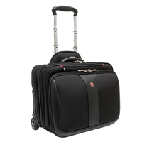 "Wenger Patriot 2-Piece Business Set Laptop Case Fits Screens up to 17"" - Black"