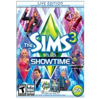 Electronic Arts Sims 3 Plus Showtime (PC/Mac)