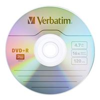Verbatim DVD+R 16x 4.7 GB/120 Minute 50-Pack Shrink Wrap
