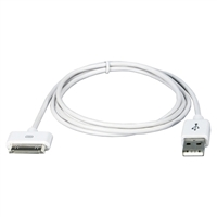 QVS 9.8' USB Sync & Charger Cable for iPod, iPhone & iPad/2/3