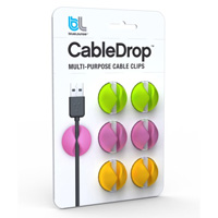 BlueLounge Design 6 CableDrop Multi Color