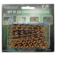 Velleman 224 Piece Ceramic Capacitor Assortment