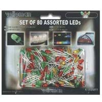 Velleman Assorted LEDs - 80 Pack