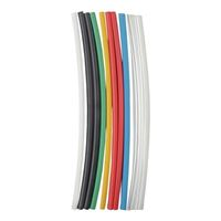 NTE Electronics Multi Color Assorted 6-inch Heat Shrink Tubing