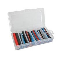 Velleman Heat Shrink Tubing Kit with Storage Box 170 Piece