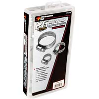 Performance Tools Hose Clamp Assortment (26 peace) - Silver